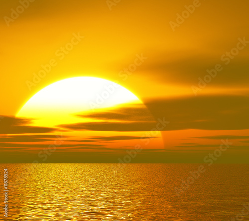 Fototapety, obrazy: Beautiful sunset