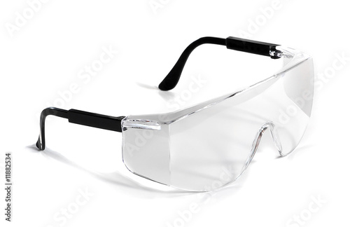 Fényképezés  Isolated Safety Glasses