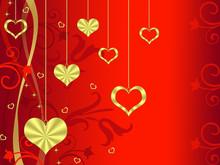 Golden Hearts Set #2