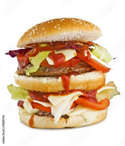 Hamburger 1 Slika na platnu