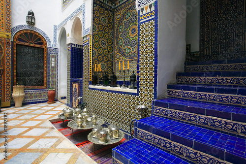 Moroccan indoor architecture