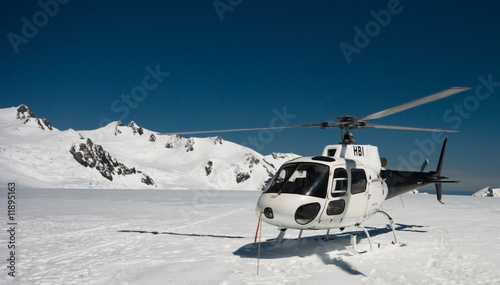 Photo Stands Helicopter Helicopter landing on mountain top