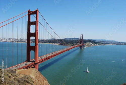 Платно Golden Gate Bridge, San Francisco, CA, USA