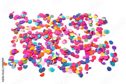 Photo  quelques confettis