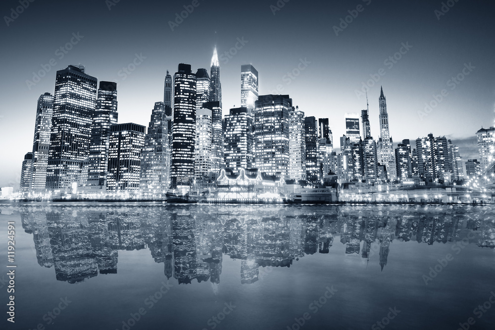 Fototapeta New York manhattan