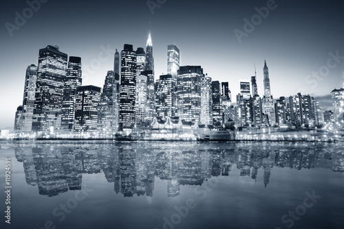 New York manhattan Wallpaper Mural
