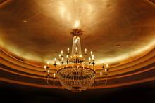 Elegant Crystal Ceiling Lamp