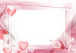 canvas print picture - Baby girl frame