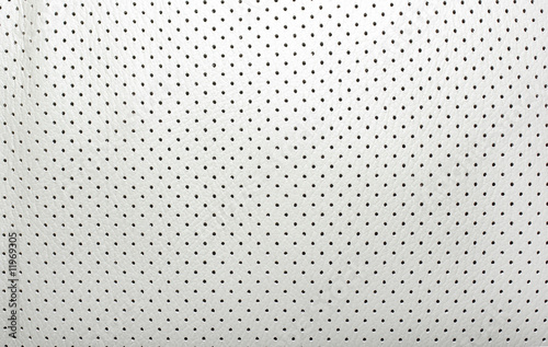 Fotografia, Obraz  High quality perforated beige leather. Interior of modern japane