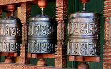 Gebetsmühlen - Tibet