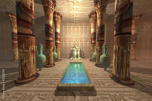 canvas print motiv - Catmando : EGYPTIAN TEMPLE