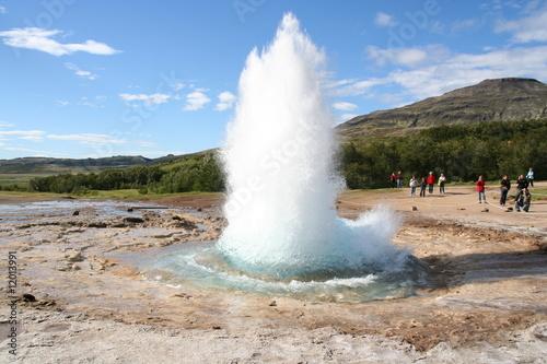 Fotografia, Obraz  geyser1-5