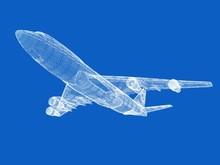 Model Of Jet Airplane
