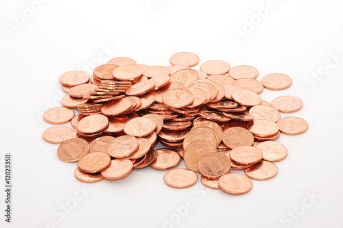 Fotomural Pile of pennies