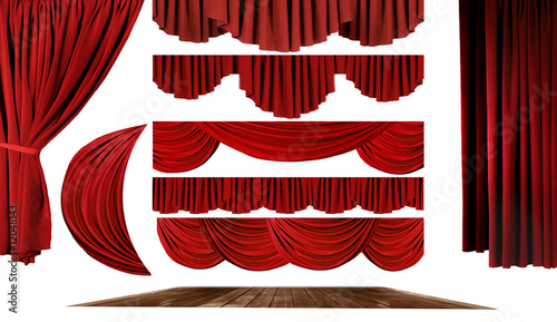 Fotomural  Theater Elements to Create Your Own Stage Background