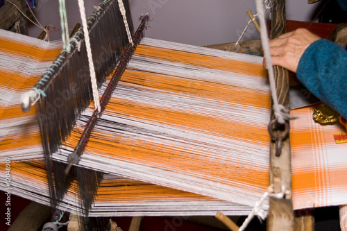 Fotografie, Obraz  Ancient Chinese loom