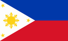 Philippinen Fahne Philippines Flag