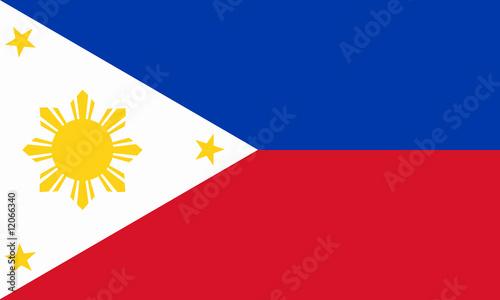 Fotografía  philippinen fahne philippines flag