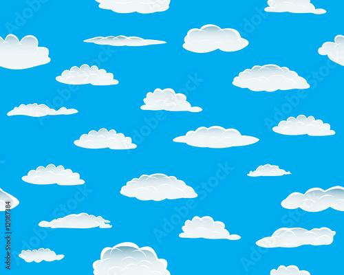 Papiers peints Ciel seamless clouds