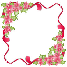 Spring Background With Lilium Set #3