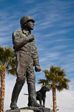 General George Patton Statue