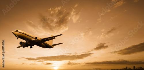 aeroplane Fototapet