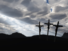 Crucifixion And Drame Sky