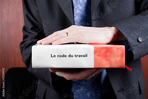 Photo  Avocat et code du travail