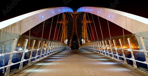 Obraz na plátně Millennium Bridge Salford