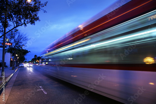 Poster Los Angeles Traffic in Los Angeles