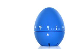 Blue Egg Timer