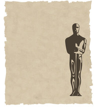 Vector Oscar Statuette Background