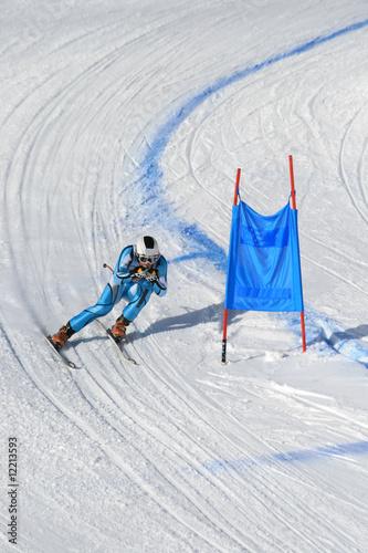 Fotografía  ski racing