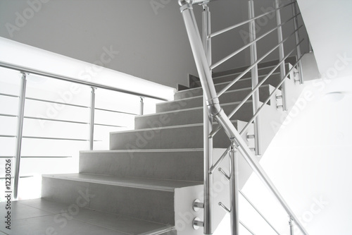 Photo Stands Stairs Modern interion staircase