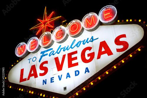 Poster Las Vegas Welcome to Las Vegas