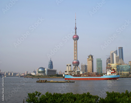 Pudong area Poster
