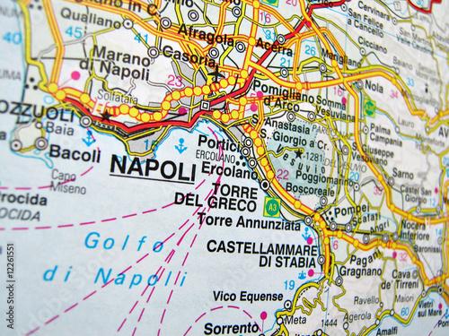 Cartina Napoli.Cartina Napoli Buy This Stock Photo And Explore Similar
