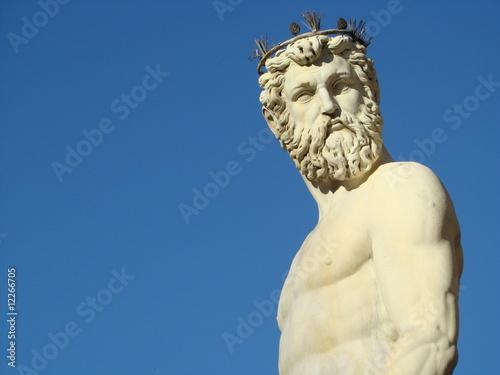 Fototapeta premium Fontanna Neptuna we Florencji