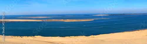 panoramique du banc d'arguin