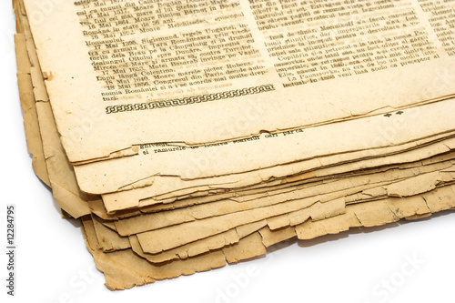 Poster Journaux Vintage background - newspaper
