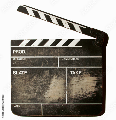 Vászonkép movie clapper board