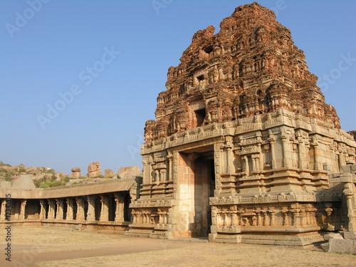 Fotografie, Obraz  Temple, Hampi 1