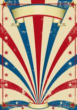 Vintage Circus Poster