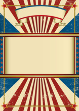 Old Vintage Circus Poster