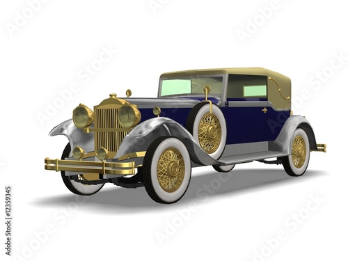 Fotografia  luxury old car