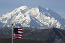 Der Mount McKinley, Nordamerik...