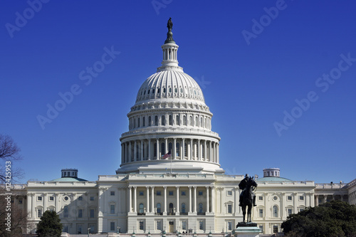 US Capital Building Canvas-taulu