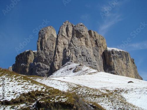 Fotografie, Obraz  Szczyt w Dolomitach