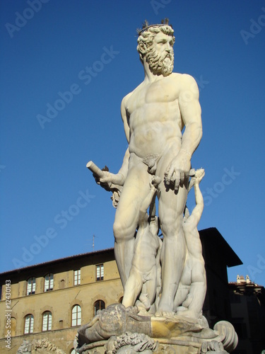 fontanna Neptuna we Florencji