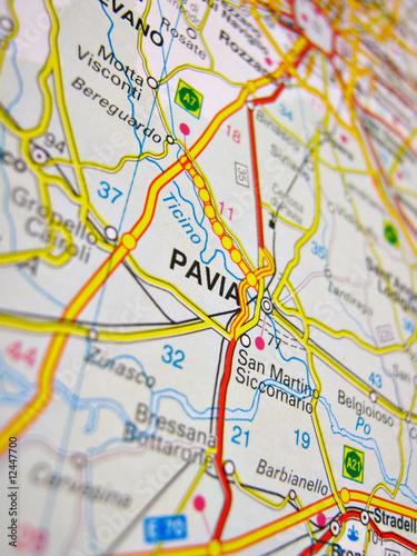 Pavia Cartina.Cartina Pavia Buy This Stock Photo And Explore Similar